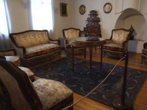 Salon, deo enterijera kralja Milana Obrenovića