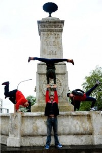 Cirque Eloize na Terazijama