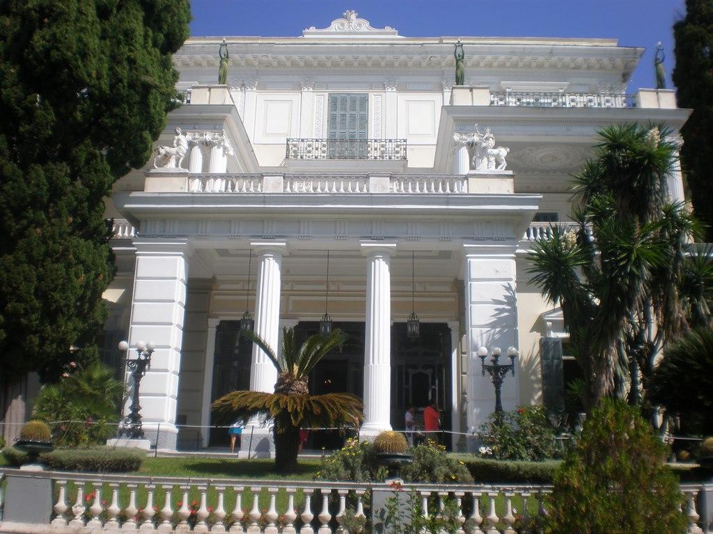 Glavni ulaz u Ahileon