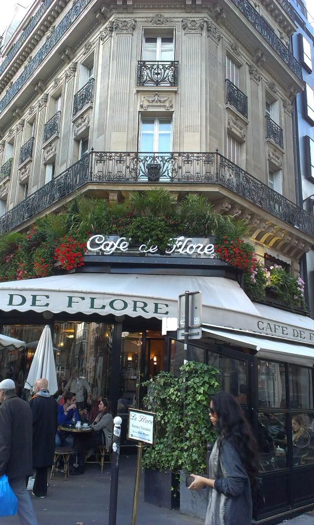 Cafe de flore - Hemingvej