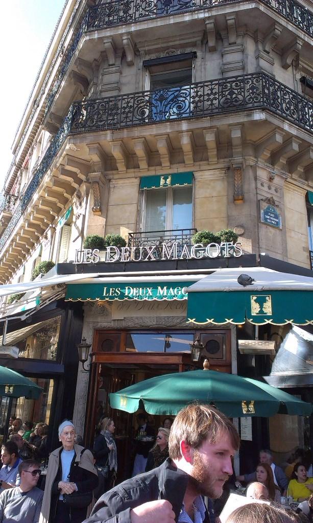 kafe Les Deux Magots - Hemingvej (2)