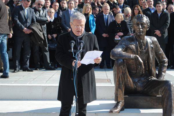 Borislav Pekic - spomenik (1)