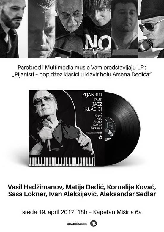 Pijanisti – pop džez klasici u klavir holu Arsena Dedića