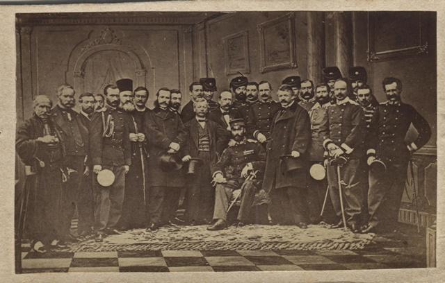 Srpska delegacija predvodjena knezom Mihailom u Carigradu