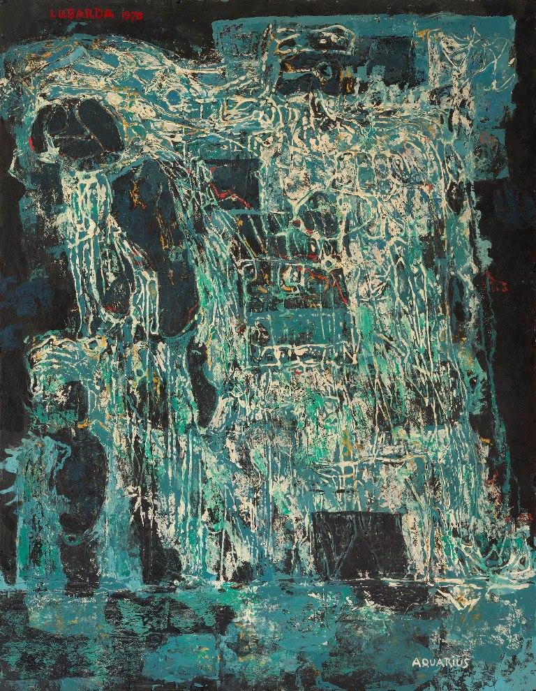 Petar Lubarda Aquarius 1970