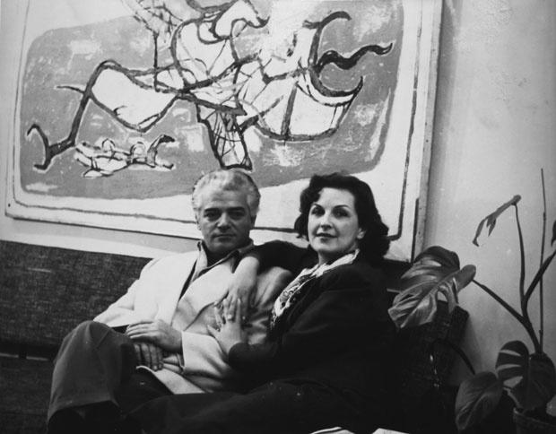 Petar i Vera Lubarda (2)
