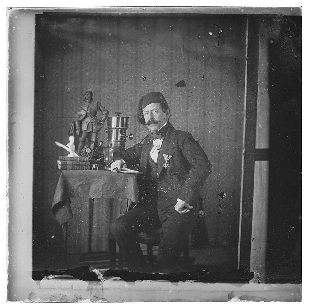 Autoportret s pecvalovim objektivom