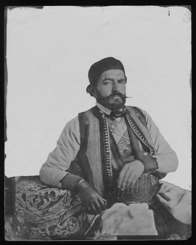 Anastas Jovanovic_ Petar Petrovic Njegos_ 1851_ Muzej grada Beograda_ AJ_466_P