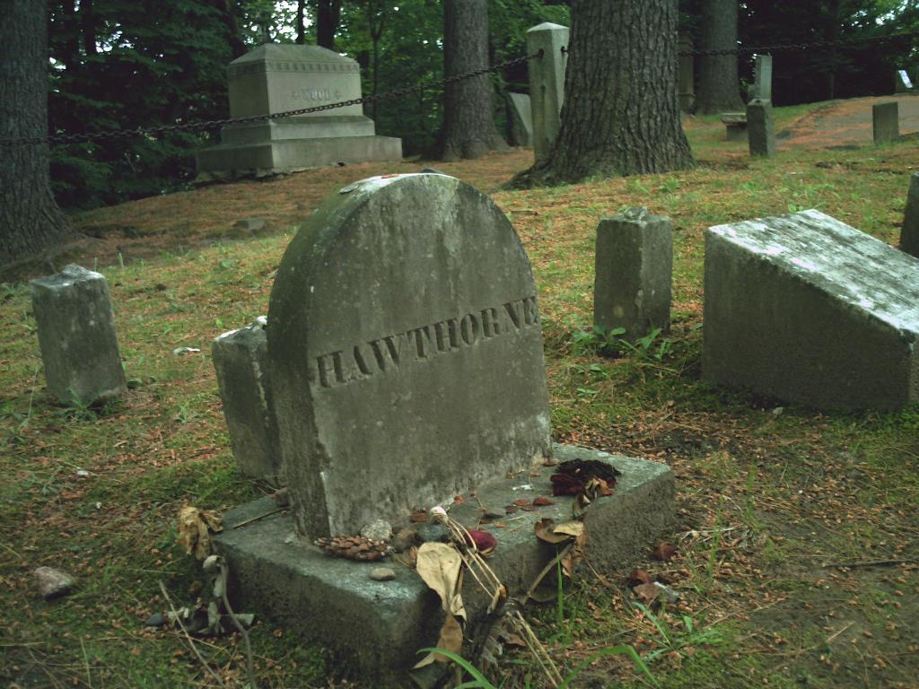 Natanijel Hotorn grob