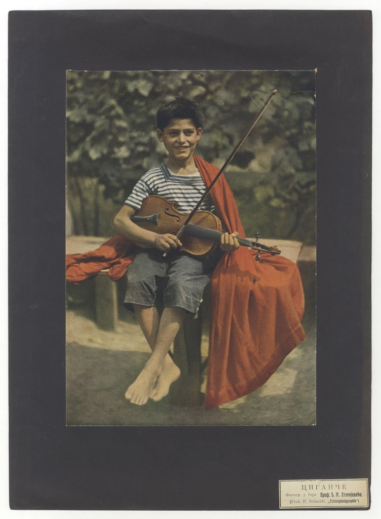 Djordje Stanojevic Cigance sa violinom