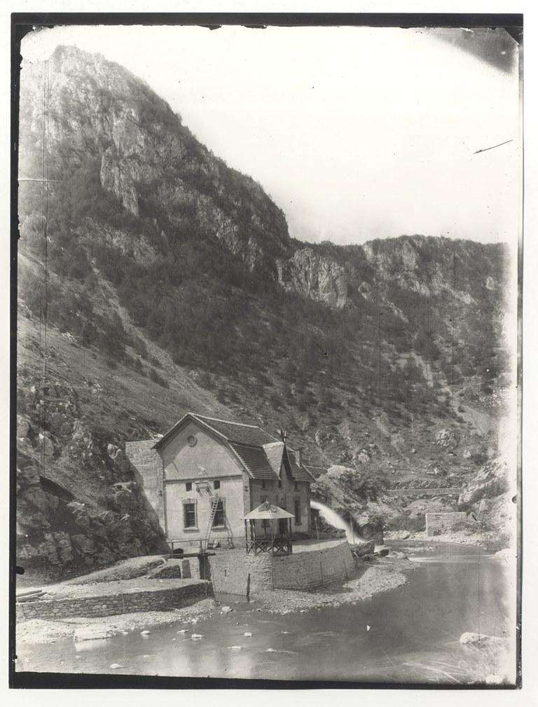 Djordje Stanojevic Zgrada hidroelektrane na Djetinji kod Uzica 1899-1900