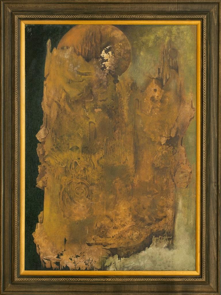 Stefan Marjanovic - Fragments of mind, 100 H x 70 W cm, ulje na platnu