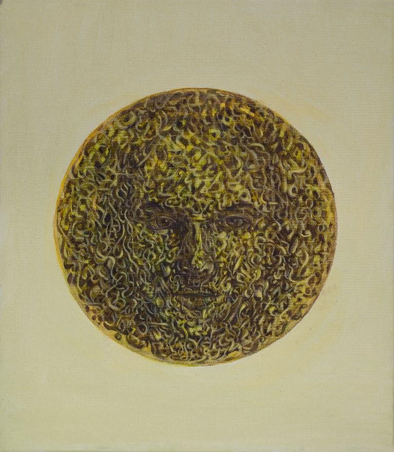 Stefan Marjanovic - Medusa, 35 H x 30 W cm, ulje na platnu
