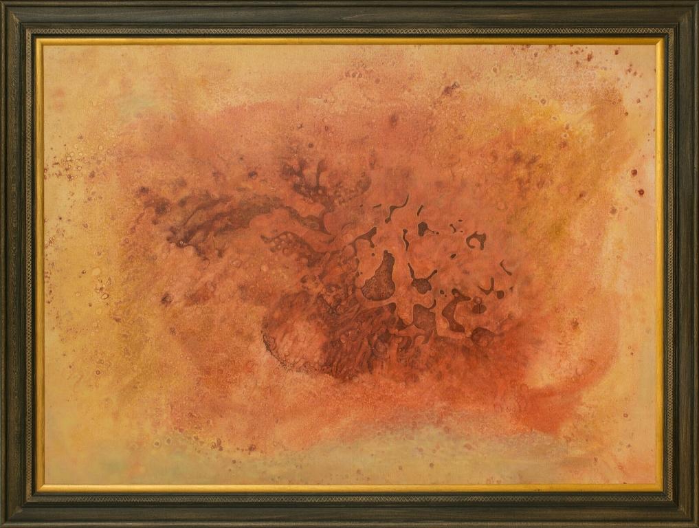 Stefan Marjanovic - The universe, 140 H x 100 W cm, ulje na platnu