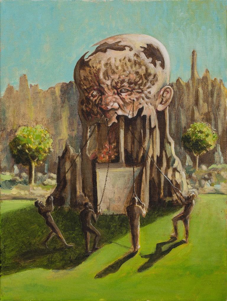 Stefan Marjanovic - Victory, 40 H x 30 W cm, ulje na platnu