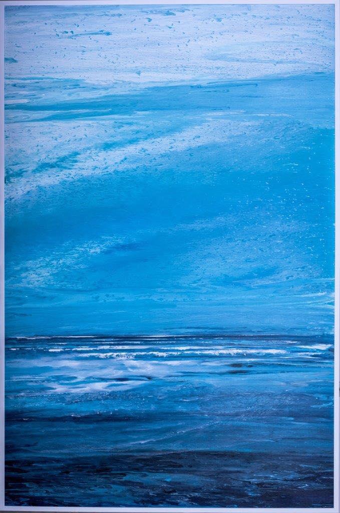 Gordana Tomic - Beskonacni horizont 210 x 135 cm, akrilik na platnu, 2017