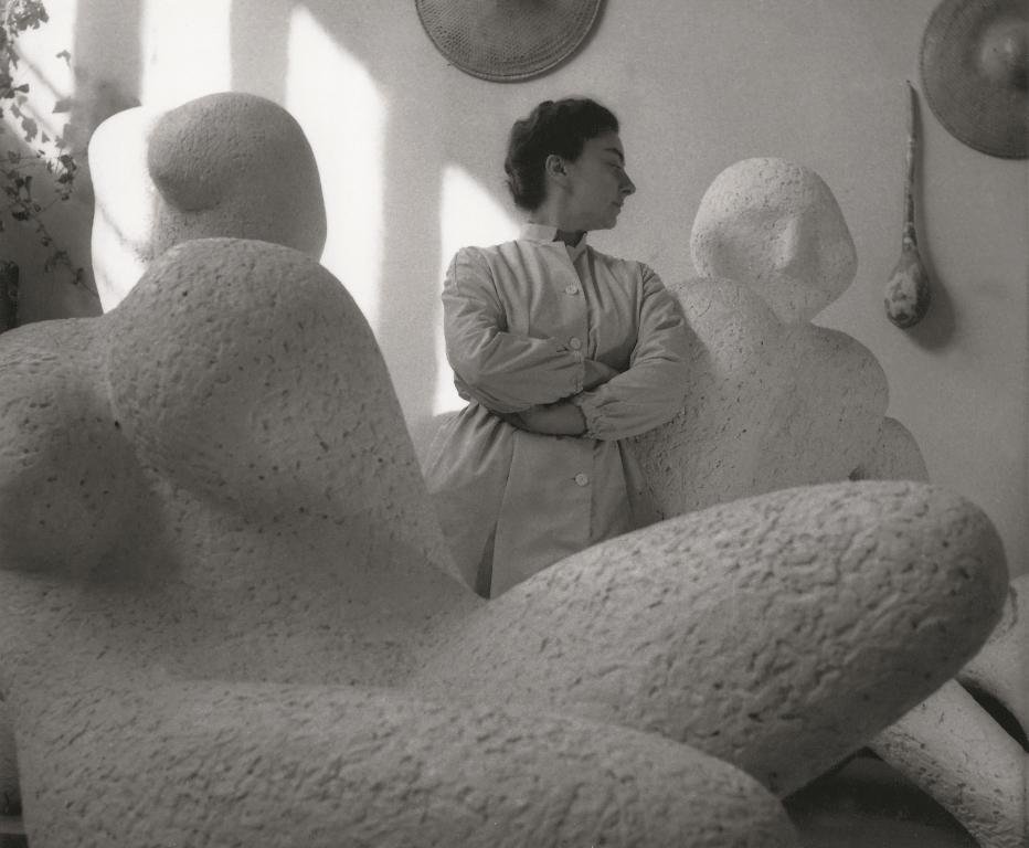 Olga Jancic - atelje - Beograd - 1958