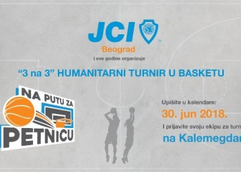Na putu za Petnicu - Humanitarni turnir u basketu 3 na 3