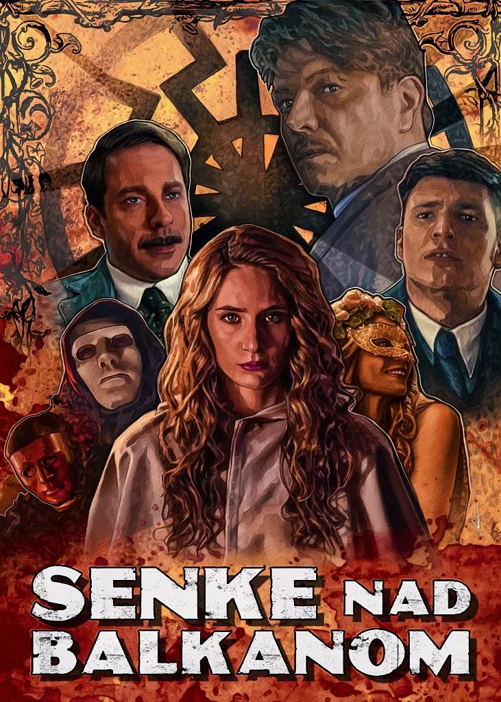 Senke nad Balkanom 2 50x70 - Stevan Aleksic