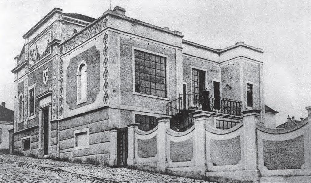 Razglednica - Kuca Bete i Riste Vukanovica - stari Beograd
