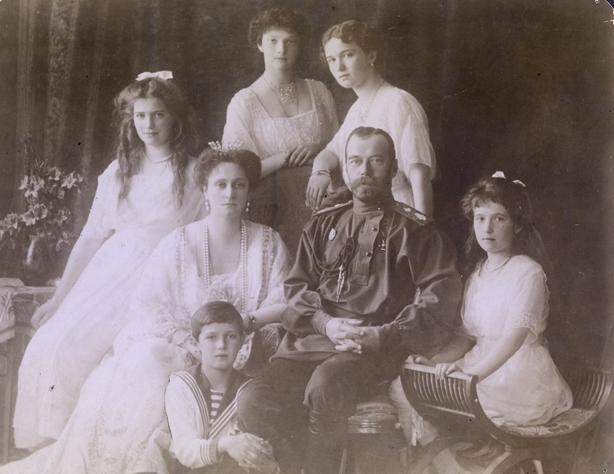Porodica Romanov - Nikolaj Aleksandra Olga Tatjana Marija Anastasija Aleksej