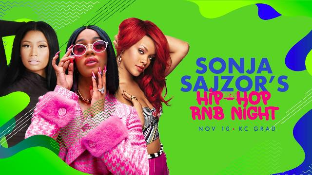 Sonja Sajzor's Hip Hop & R'n'B Night