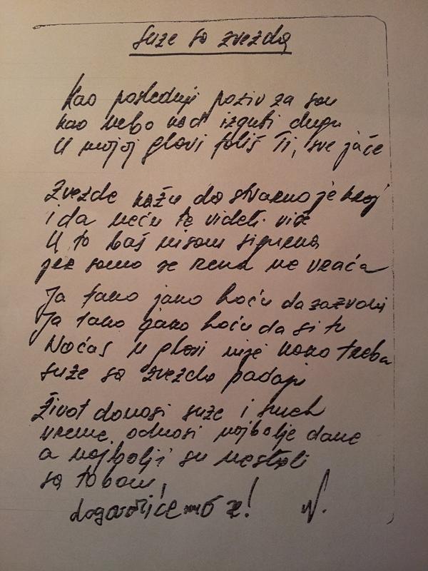 Poslednja pesma Nese Leptira