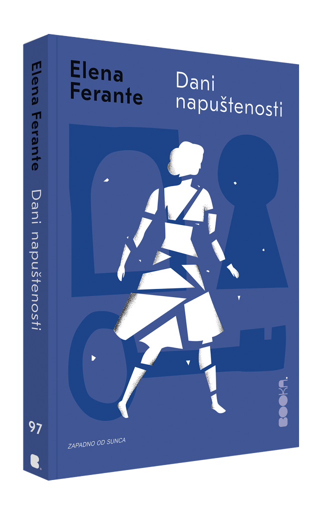 Dani napustenosti - knjiga - Elena Ferente - Booka