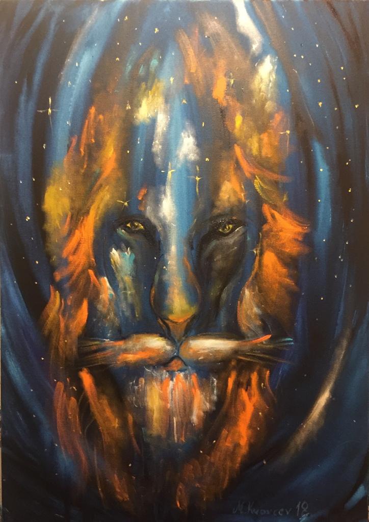 Miša Mihajlo Kravcev - Legenda neba lavova 70x100