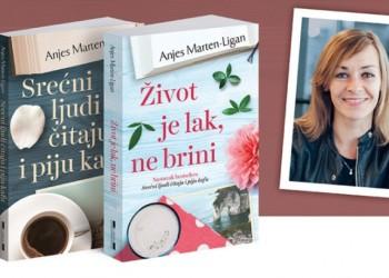 Anjes Marten Ligan - Srecni ljudi citaju i piju kafu - Zivot je lak ne brini - Laguna - 2019