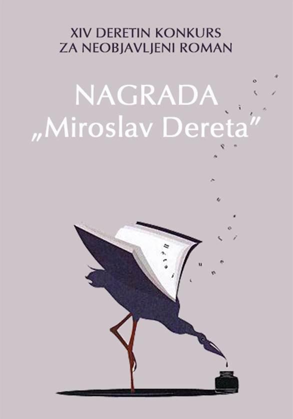 Dereta - konkurs za neobjavljeni roman 2019