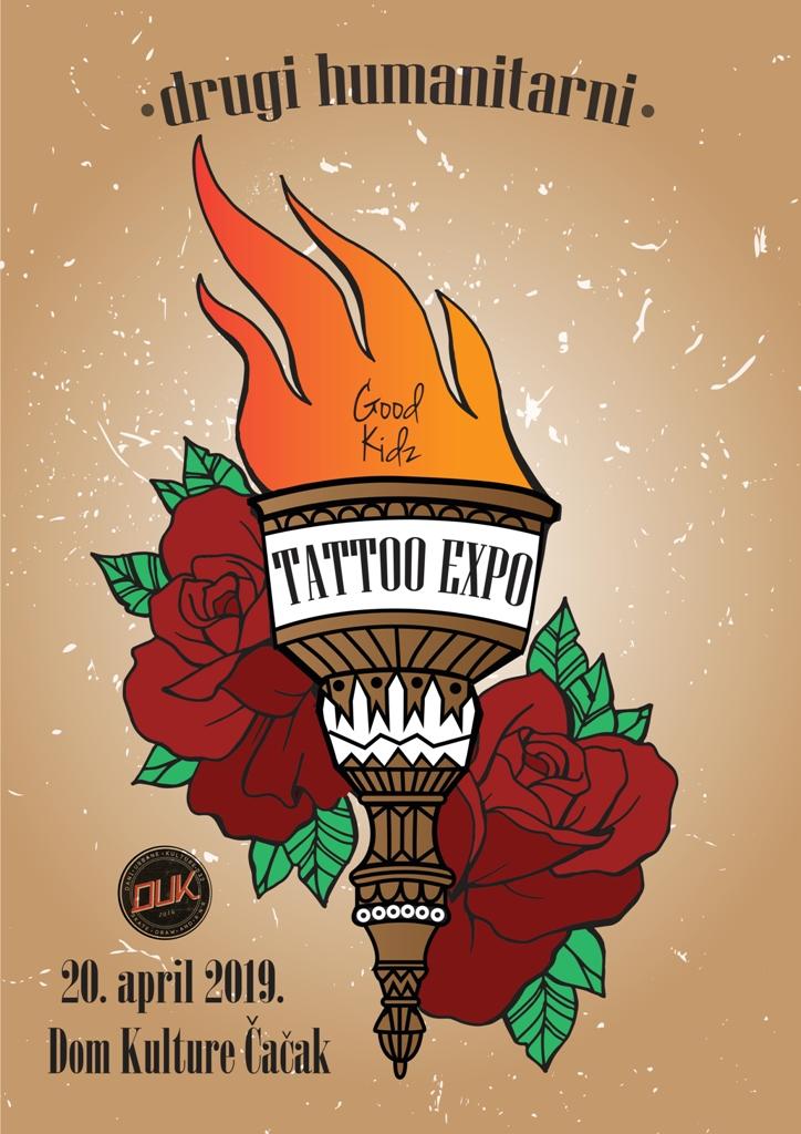 Tattoo expo Dom kulture Cacak 2019 - Good kidz - Dina Bralovic - Dani urbane kulture
