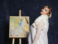 Gordana Tomic slikarka - izlozba Rastuce sunce